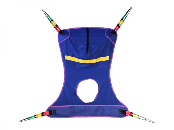 Full Body Mesh Sling with Commode