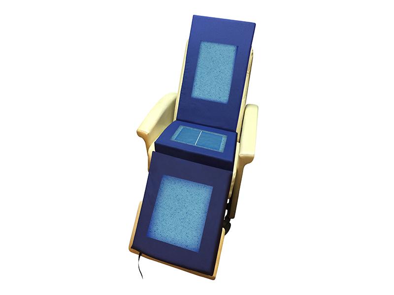 Protekt® Geri-Chair Overlay with Gel Infused Visco Memory Foam and Gel Bladder